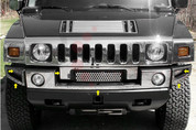 2003 - 2011 Hummer H2 Front Bumper Cover 6pc