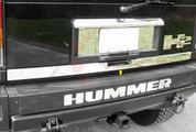 2003 - 2011 Hummer H2 Tailgate Trim