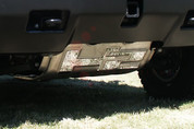 2003 - 2011 Hummer H2 Brush Plate Trim