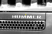 2006 - 2009 Hummer H3 Front Insert with Lettering