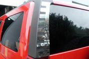 2006 - 2009 Hummer H3 Rear Window Trim