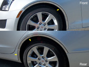 2013-2015 Cadillac ATS Fender Trim on 3M Tape with Cut Out