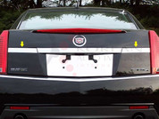 2008 - 2013 Cadillac CTS Chrome License Bar