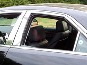 2008 - 2013 Cadillac CTS Chrome Pillar Post
