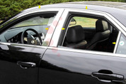 2008 - 2013 Cadillac CTS Chrome Window Trim Package