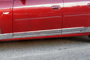 "2003 - 2007 Cadillac CTS Chrome ""L-Type"" Rocker Panel Trim"