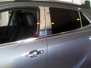 2013 + Buick Encore Chrome Pillar Posts