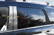 2009 - 2014 Dodge Journey Chrome Pillar Posts