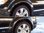 2009 - 2014 Dodge Journey Chrome Fender Trim on 3M Tape