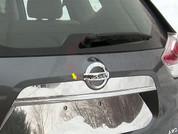 2014 + Nissan Rogue Chrome Chrome License Bar Trim
