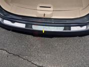 2014 + Nissan Rogue Chrome Chrome Rear Bumper Cover