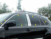 2004 - 2009 Lexus RX 330 350 400 Chrome Window Trim Package
