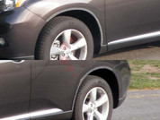 2010 - 2014 Lexus RX 350 Chrome Fender Trim