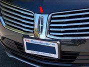 2015 Lincoln MKC Stainless Steel / Chrome Front Grille Logo Trim 1pc