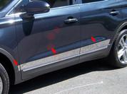 2015 Lincoln MKC Stainless Steel / Chrome Rocker Panel Trim 6pc