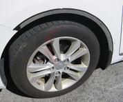 "2012+ i30 / Elantra GT Stainless Steel / Chrome Wheel Well Trim - 7/8"" width 4pc"