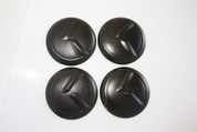 "LODEN BLACK ""K"" Wheel Cap Emblem Overlay Set 4pc for Kia Models"