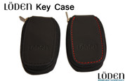 Genuine Leather Zipper Smart Key Case Pocket