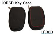 Genuine Leather Zipper Smart Key Case Pocket