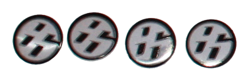 86 Accent Emblem Mini 4 pc set
