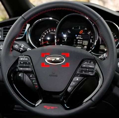 2016 Sportage Ql Style Quot Gt Quot Steering Wheel Emblem Badge Logo Replacement Korean Auto Imports
