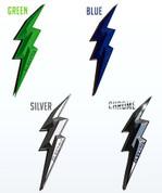 "LODEN Electric ""VOLTA"" Hybrid Car Accent Emblem Badge"