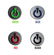 "LODEN ""PLUG-IN"" Hybrid Electric Car Accent Emblem"