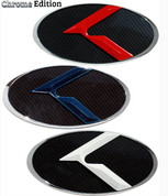 Red, White & Blue LODEN 3D K Badge Emblem Hood/Grill/Trunk