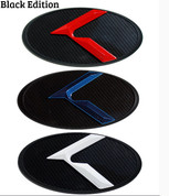 Red, White & Blue ~BLACK EDITION~ LODEN 3D K Badge Emblem Hood/Grill/Trunk
