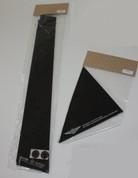 2009 - 2013 Forte Sedan EXOS Gloss Black Door Pillare Set 6pc