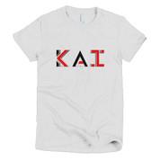 New KAI Logo Short Sleeve Women's T-Shirt