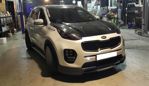 2016 Sportage Ql C Factory Full Body Kit Korean Auto