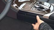 Mercedes-Benz GLC Velour Center Console Storage Bin/Compartment