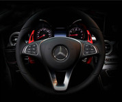 Mercedes-Benz GLC Sport RED Paddle Shifter Covers Set 2pc
