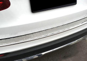 Mercedes-Benz GLC Silver/Chrome Rear Bumper Protector Cover