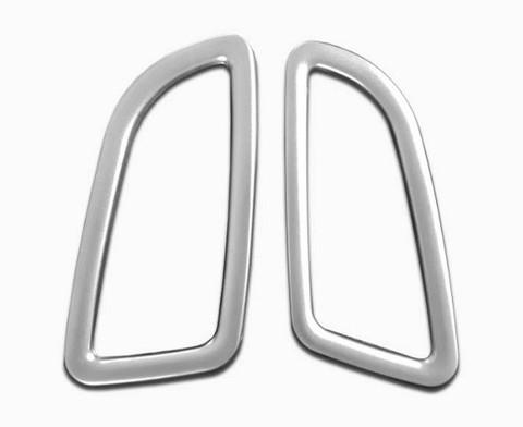 Mercedes-Benz GLC Silver Dash Air Vent Cover/Surround Set 2pc