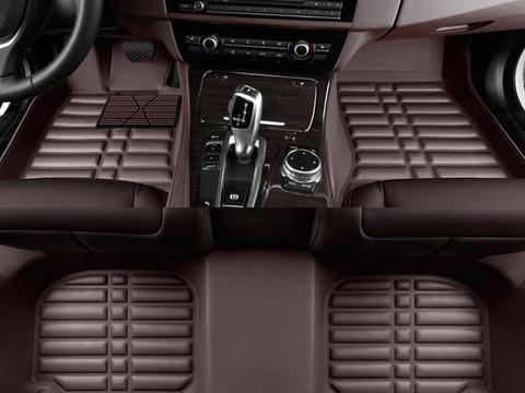 2017 Genesis G80 5d Custom Molded Floor Liner Set Front