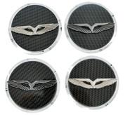 LODEN ANZU T-Wing Wheel Cap Emblem Set 4pc