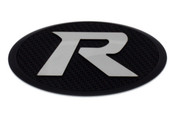 "LODEN ""R"" Badge Emblem Grill/Hood/Trunk (Chrome or Black Base)"