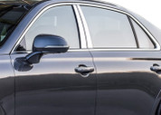 Genesis G90 Stainless Steel Chrome Door Pillar Post Set 4pc