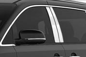 "2014 - 2017 Kia Sedona ""SAA"" Stainless Chrome Polished Pillar Posts 4pc"