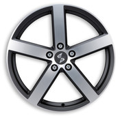ETA BETA ITALY Eros Black Full Polish Premium Alloy Wheels
