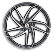 ETA BETA ITALY Eros Heron Anthracite Matt Polish Premium Alloy Wheels