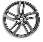 """ETA BETA ITALY """"DLW"""" Elite Anthracite Matt Polish Deluxe Wheel Collection"""
