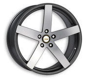 """ETA BETA ITALY """"DLW"""" Uros - K S Anthracite Matt Polish Deluxe Wheel Collection"""