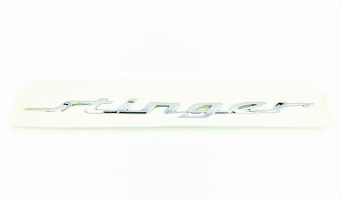 STINGER Letter Emblem for Kia Stinger Sedan KDM exclusive emblem