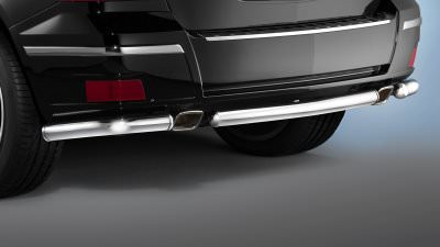 Mercedes Benz GLC Cobra rear bumper skid plate protection bar set 3pc 2010 2011 2012 2013 2014 2015 2016