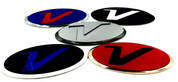 "*NEW* ""V-POP BADGE"" VELOSTER Emblem Grill/Trunk (MUCHOS COLORES!)"