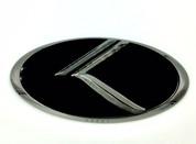"""2013-2018 Forte Hatch 5dr """"THE REAL K"""" 3D Vintage Emblem Badge Hood/Grille/Trunk (Various Colors)"""