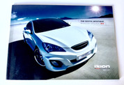 *RARE COLLECTORS ITEM* Genesis Coupe IXION Catalog (FREE SHIPPING)